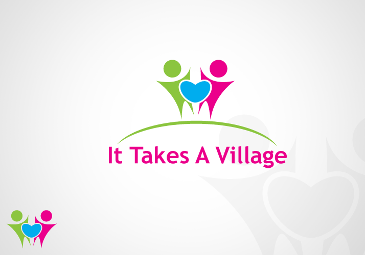 Logo Design by Jan Chua - Entry No. 27 in the Logo Design Contest Captivating Logo Design for It Takes A Village.