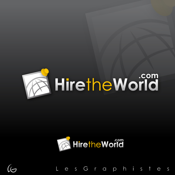 Logo Design by Les-Graphistes - Entry No. 237 in the Logo Design Contest Hiretheworld.com.