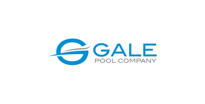 Logo Design by untung - Entry No. 9 in the Logo Design Contest Imaginative Logo Design for Gale Pool Company.