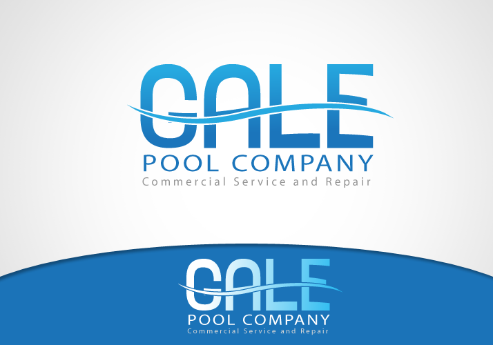 Logo Design by Jan Chua - Entry No. 11 in the Logo Design Contest Imaginative Logo Design for Gale Pool Company.