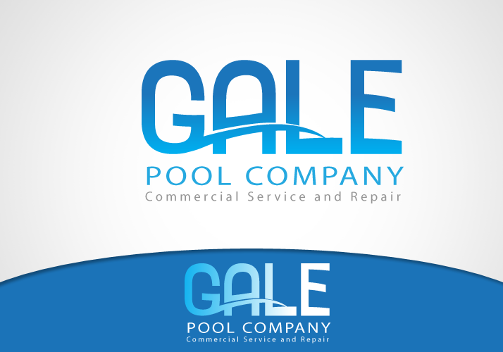 Logo Design by Jan Chua - Entry No. 12 in the Logo Design Contest Imaginative Logo Design for Gale Pool Company.
