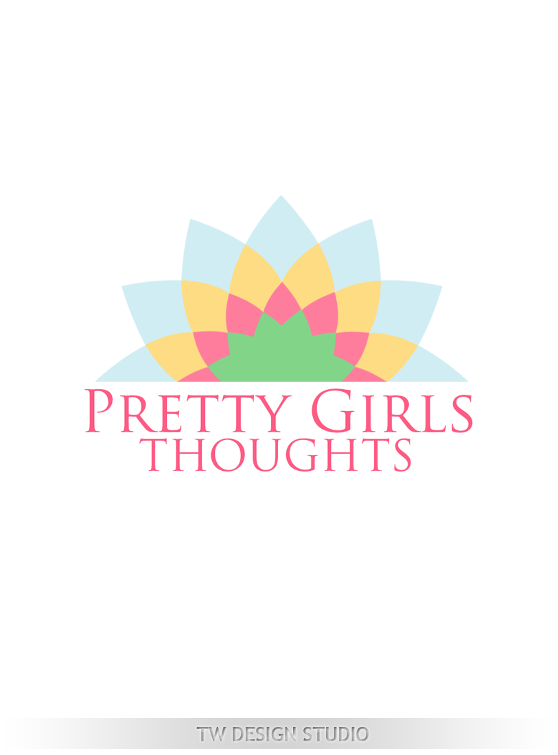 Logo Design by Private User - Entry No. 66 in the Logo Design Contest Inspiring Logo Design for Pretty Girl Thoughts.