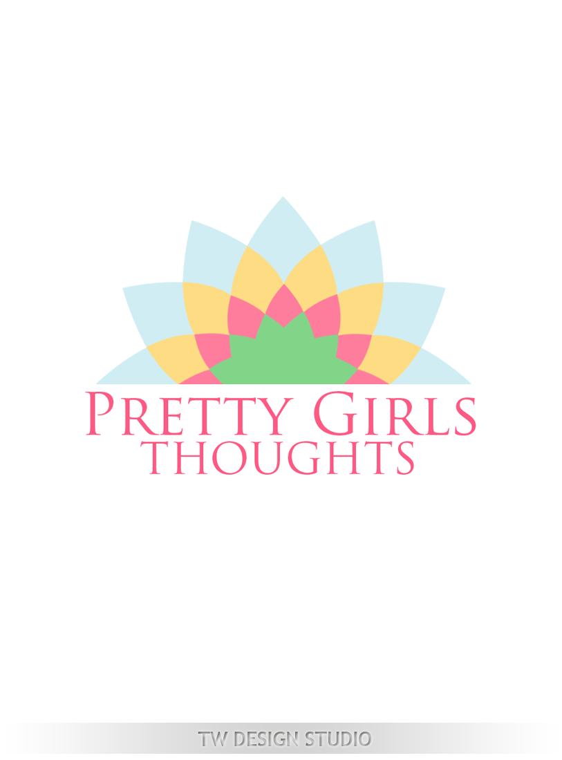 Logo Design by Robert Turla - Entry No. 66 in the Logo Design Contest Inspiring Logo Design for Pretty Girl Thoughts.