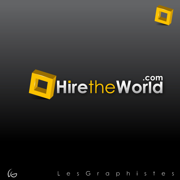 Logo Design by Les-Graphistes - Entry No. 238 in the Logo Design Contest Hiretheworld.com.