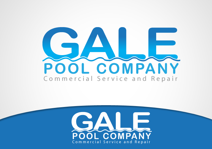 Logo Design by Jan Chua - Entry No. 14 in the Logo Design Contest Imaginative Logo Design for Gale Pool Company.