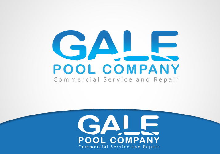 Logo Design by Jan Chua - Entry No. 15 in the Logo Design Contest Imaginative Logo Design for Gale Pool Company.