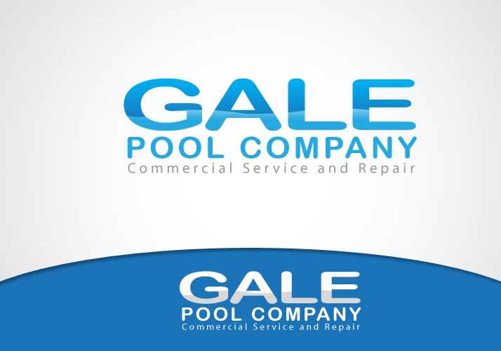 Logo Design by Jan Chua - Entry No. 16 in the Logo Design Contest Imaginative Logo Design for Gale Pool Company.