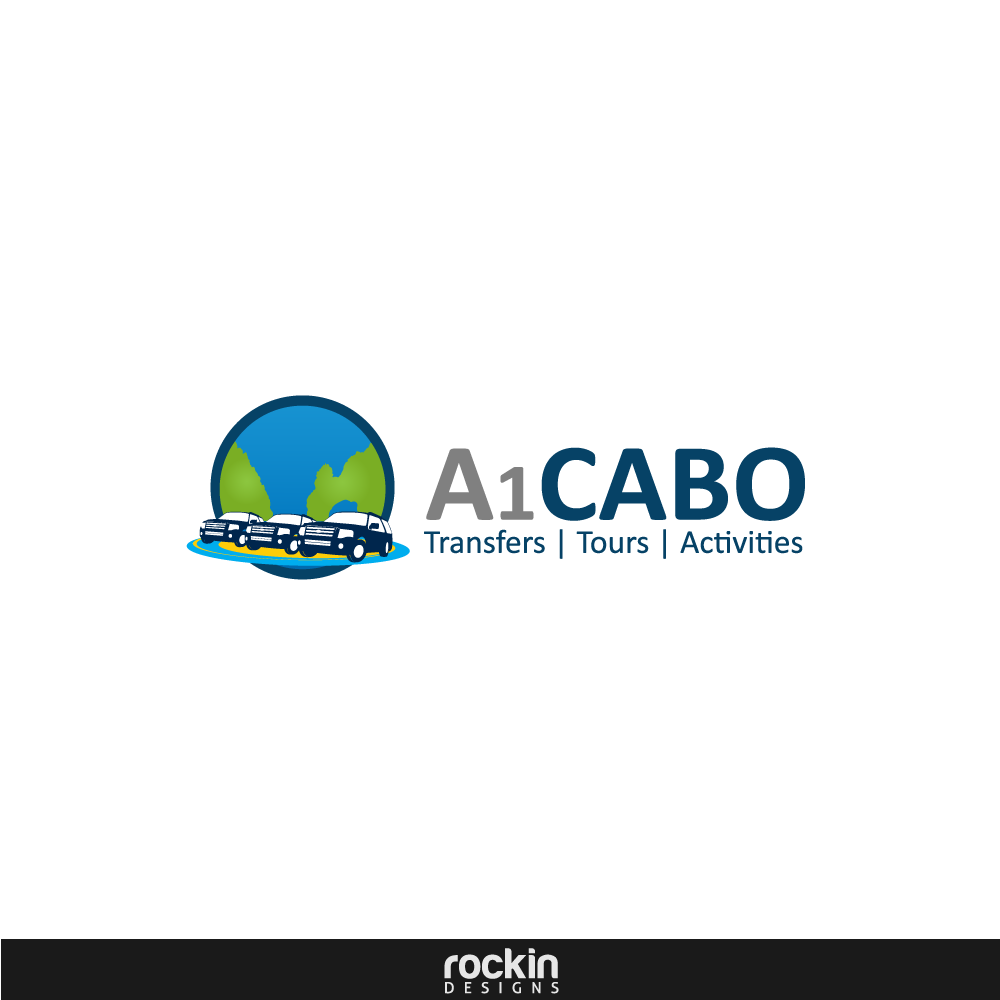 Logo Design by rockin - Entry No. 30 in the Logo Design Contest Inspiring Logo Design for A1Cabo.com.