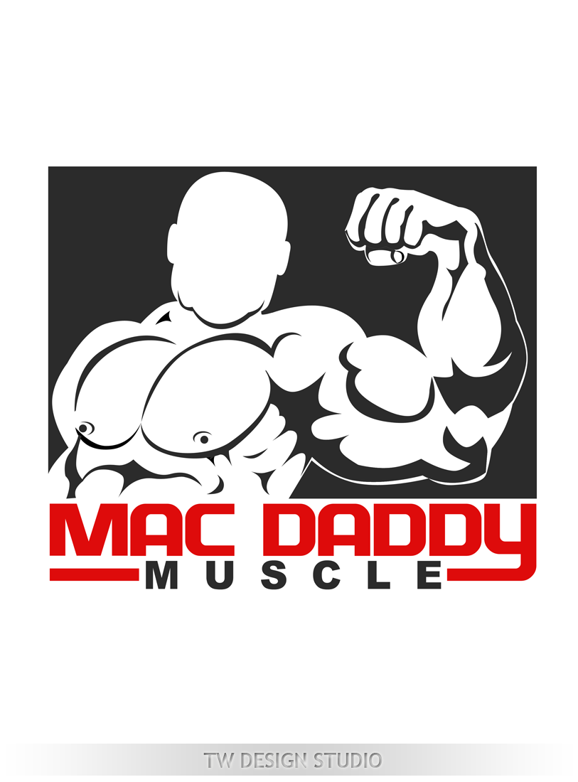 Logo Design by Private User - Entry No. 50 in the Logo Design Contest New Logo Design for Mac Daddy Muscle.