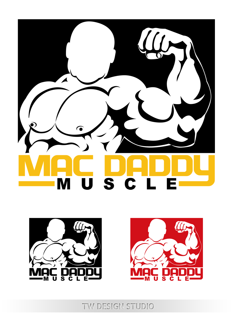 Logo Design by Private User - Entry No. 51 in the Logo Design Contest New Logo Design for Mac Daddy Muscle.