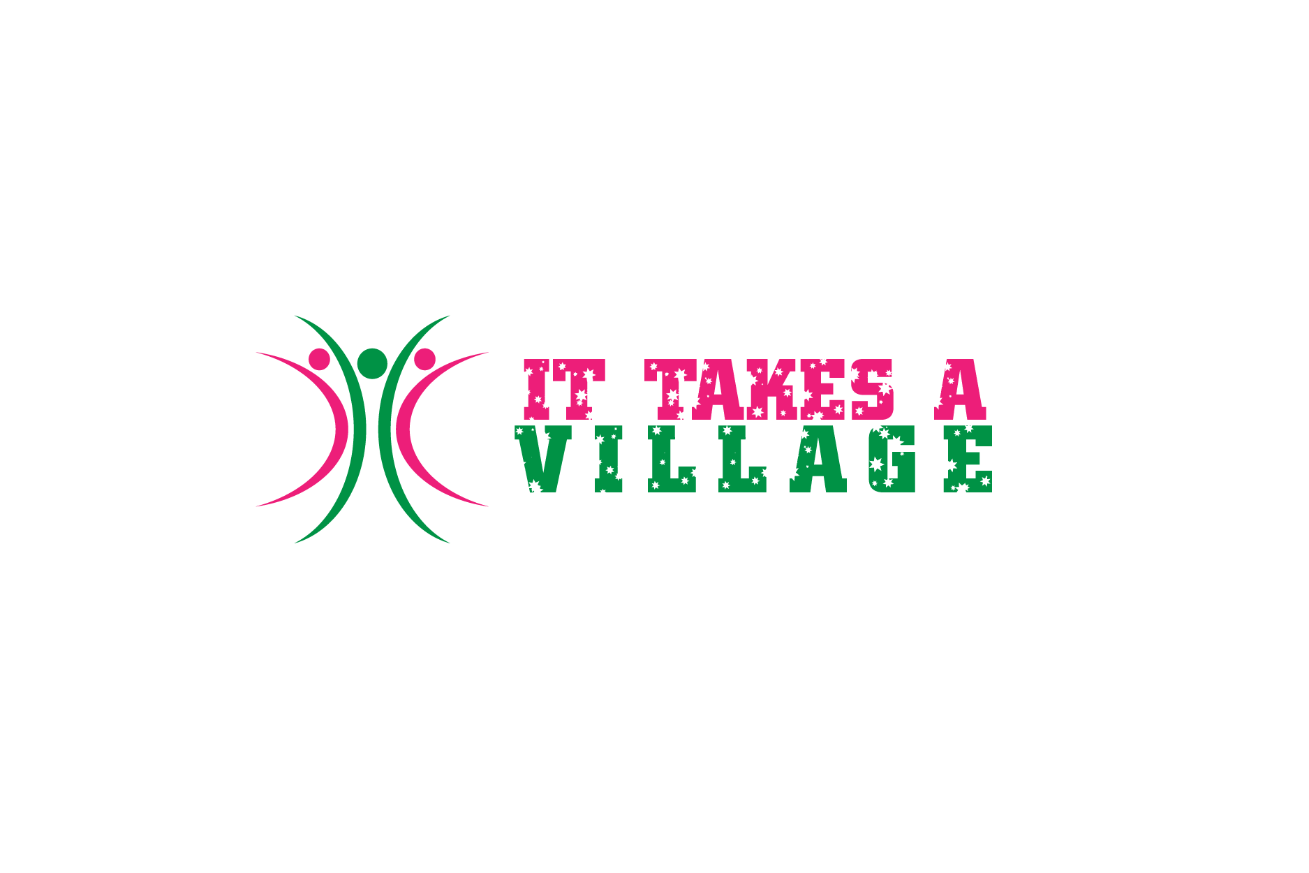 Logo Design by Private User - Entry No. 33 in the Logo Design Contest Captivating Logo Design for It Takes A Village.