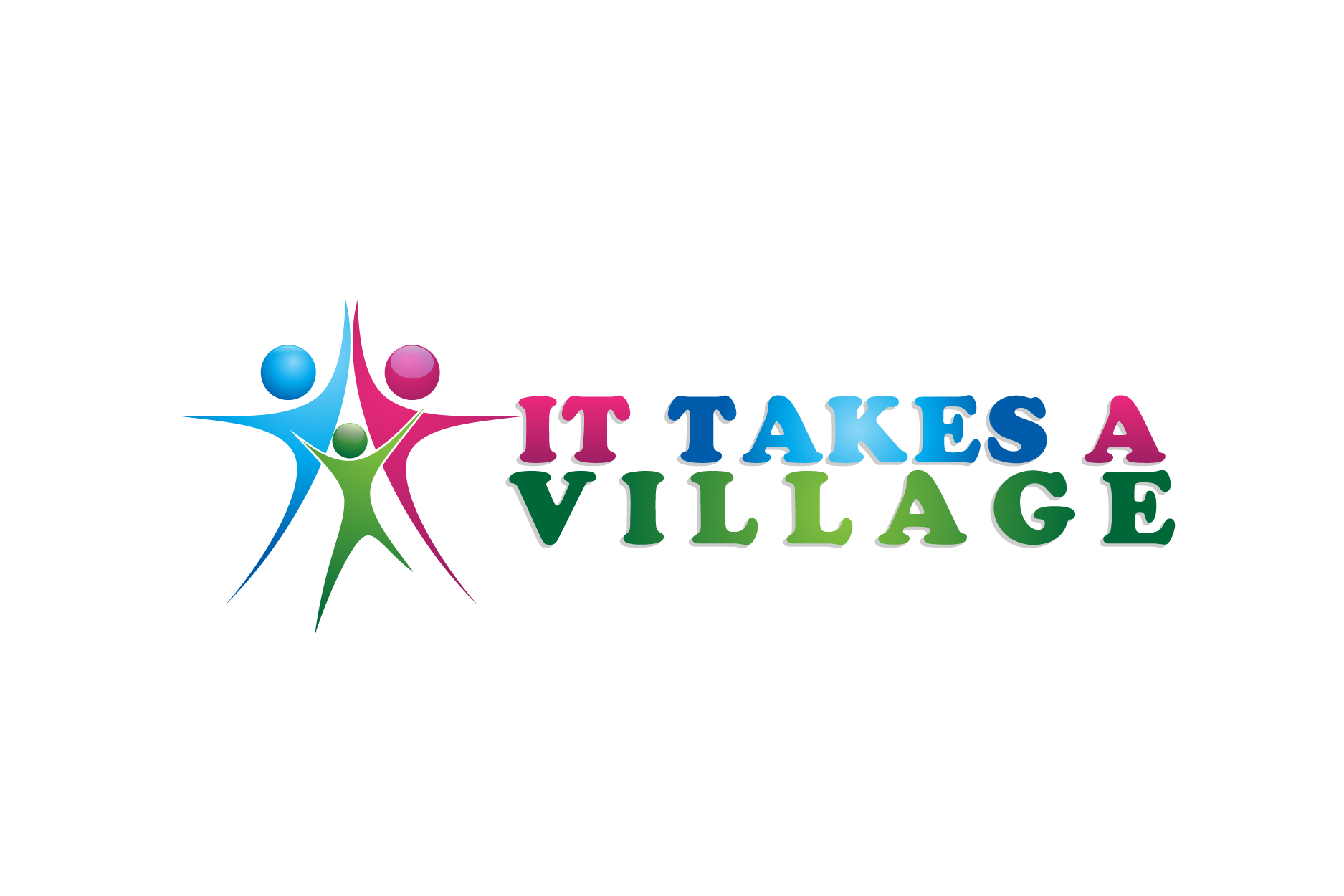 Logo Design by Private User - Entry No. 34 in the Logo Design Contest Captivating Logo Design for It Takes A Village.
