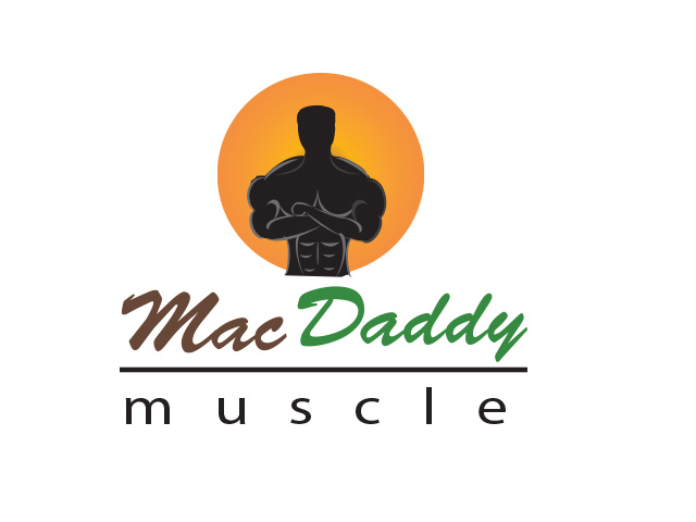 Logo Design by Kyaw Min Khaing - Entry No. 52 in the Logo Design Contest New Logo Design for Mac Daddy Muscle.