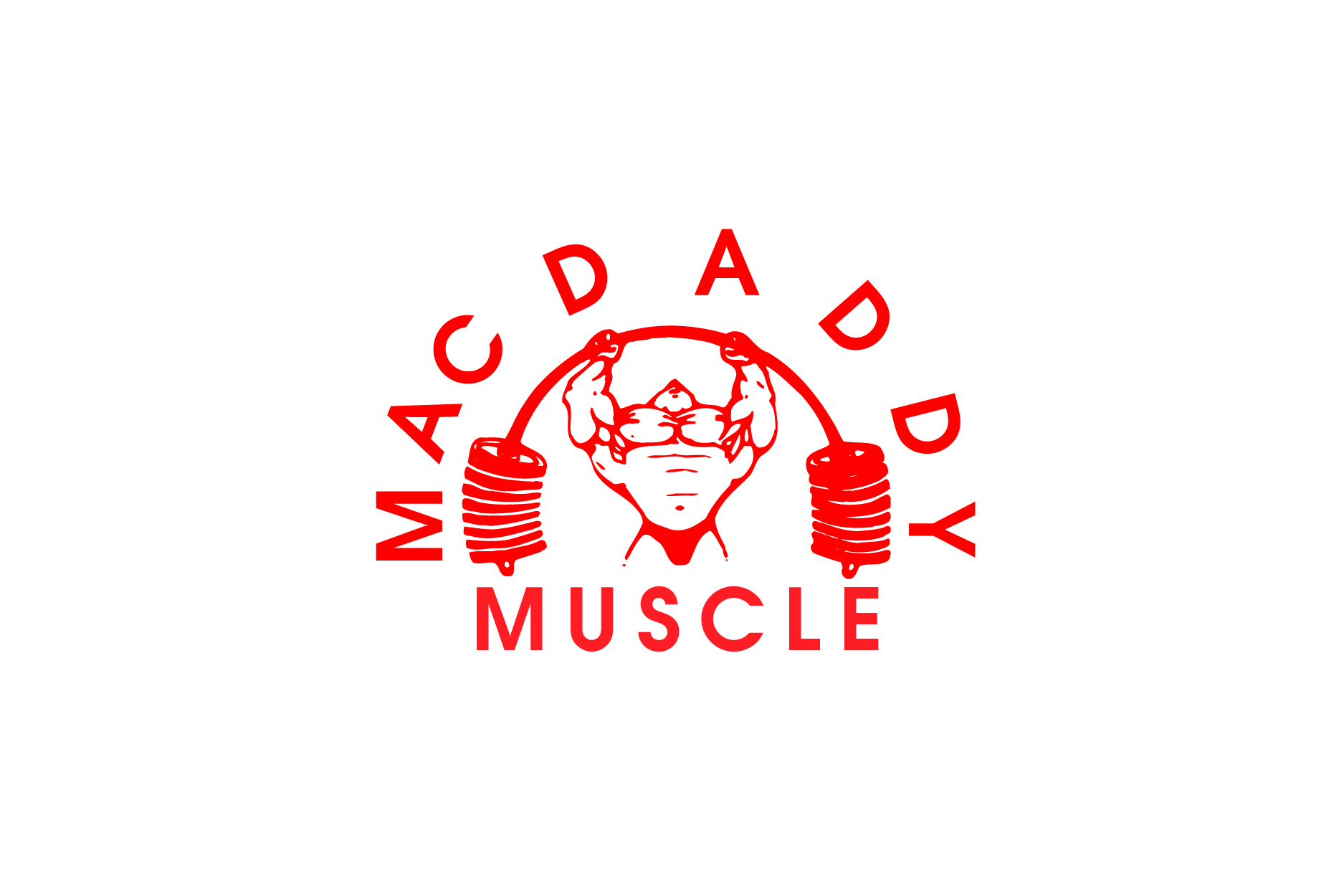 Logo Design by brands_in - Entry No. 54 in the Logo Design Contest New Logo Design for Mac Daddy Muscle.