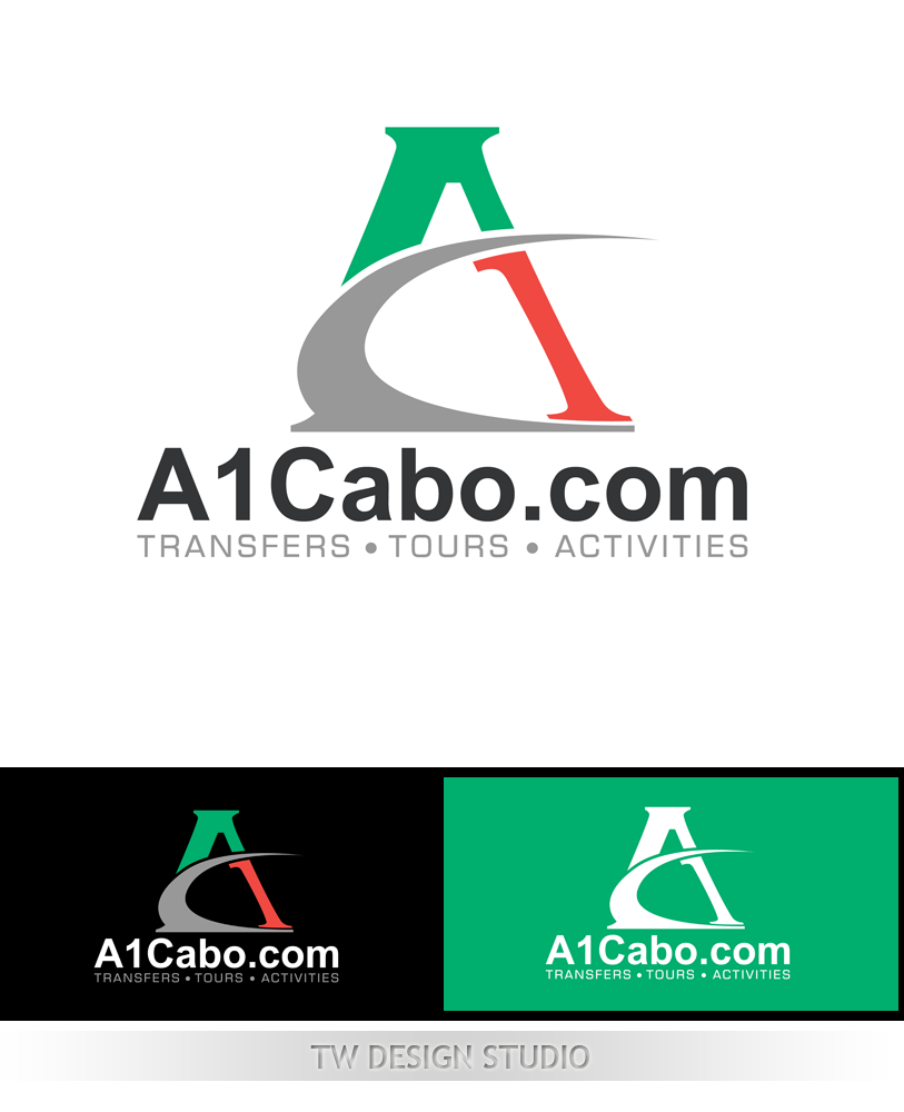 Logo Design by Robert Turla - Entry No. 31 in the Logo Design Contest Inspiring Logo Design for A1Cabo.com.