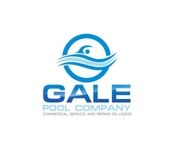 Logo Design by ronny - Entry No. 30 in the Logo Design Contest Imaginative Logo Design for Gale Pool Company.