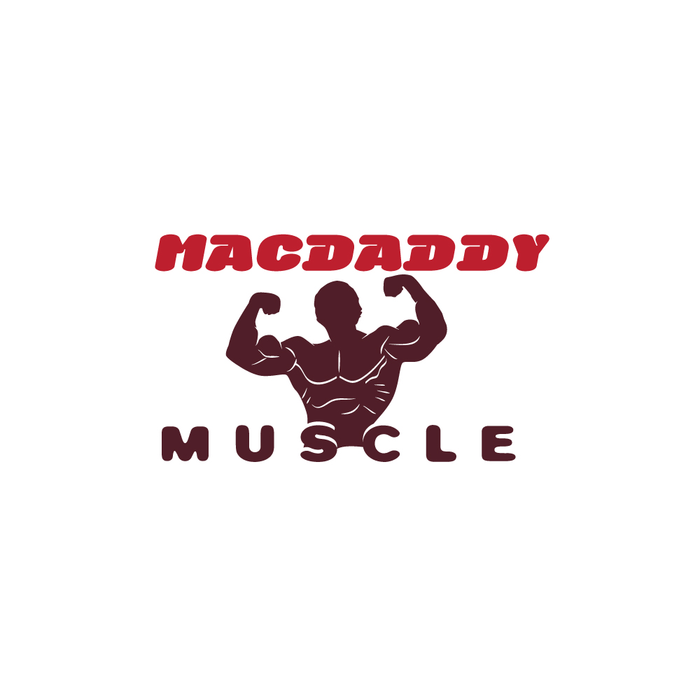 Logo Design by danelav - Entry No. 58 in the Logo Design Contest New Logo Design for Mac Daddy Muscle.