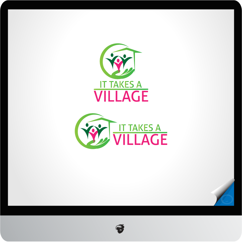 Logo Design by zesthar - Entry No. 46 in the Logo Design Contest Captivating Logo Design for It Takes A Village.