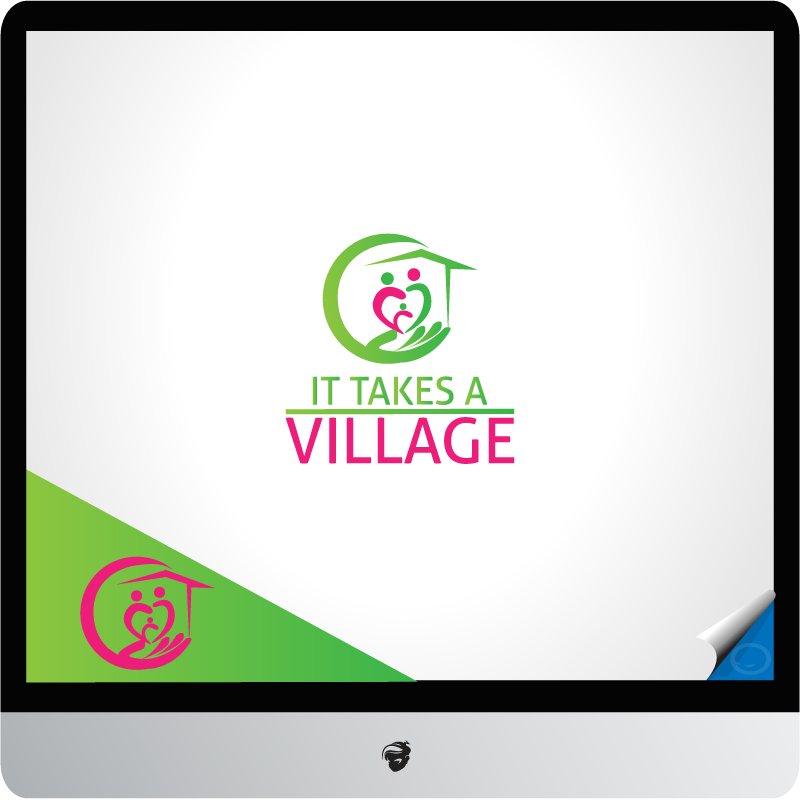 Logo Design by zesthar - Entry No. 47 in the Logo Design Contest Captivating Logo Design for It Takes A Village.