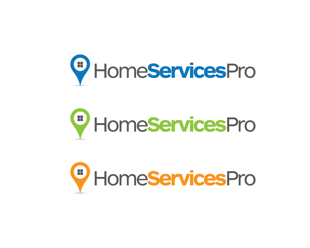 Logo Design by roc - Entry No. 28 in the Logo Design Contest Captivating Logo Design for Home Services Pro   / HomeServicesPro.com.