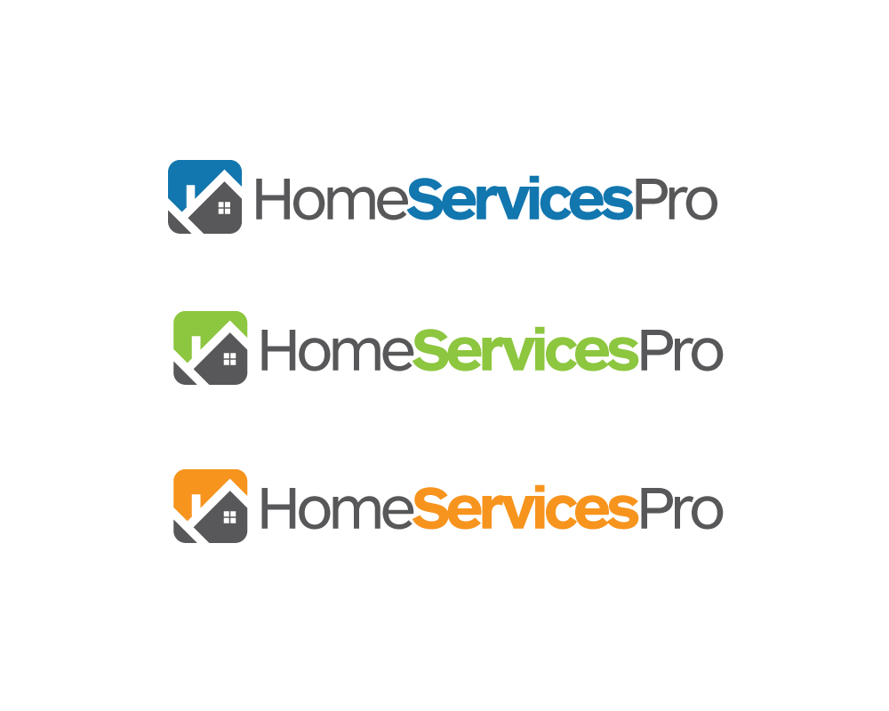 Logo Design by roc - Entry No. 30 in the Logo Design Contest Captivating Logo Design for Home Services Pro   / HomeServicesPro.com.