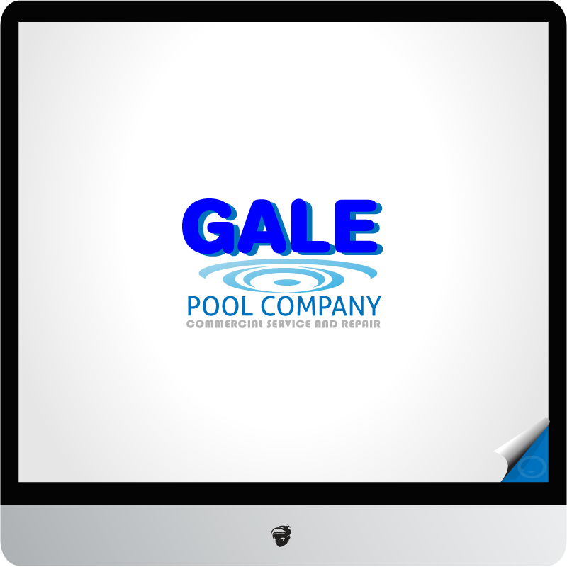 Logo Design by zesthar - Entry No. 33 in the Logo Design Contest Imaginative Logo Design for Gale Pool Company.
