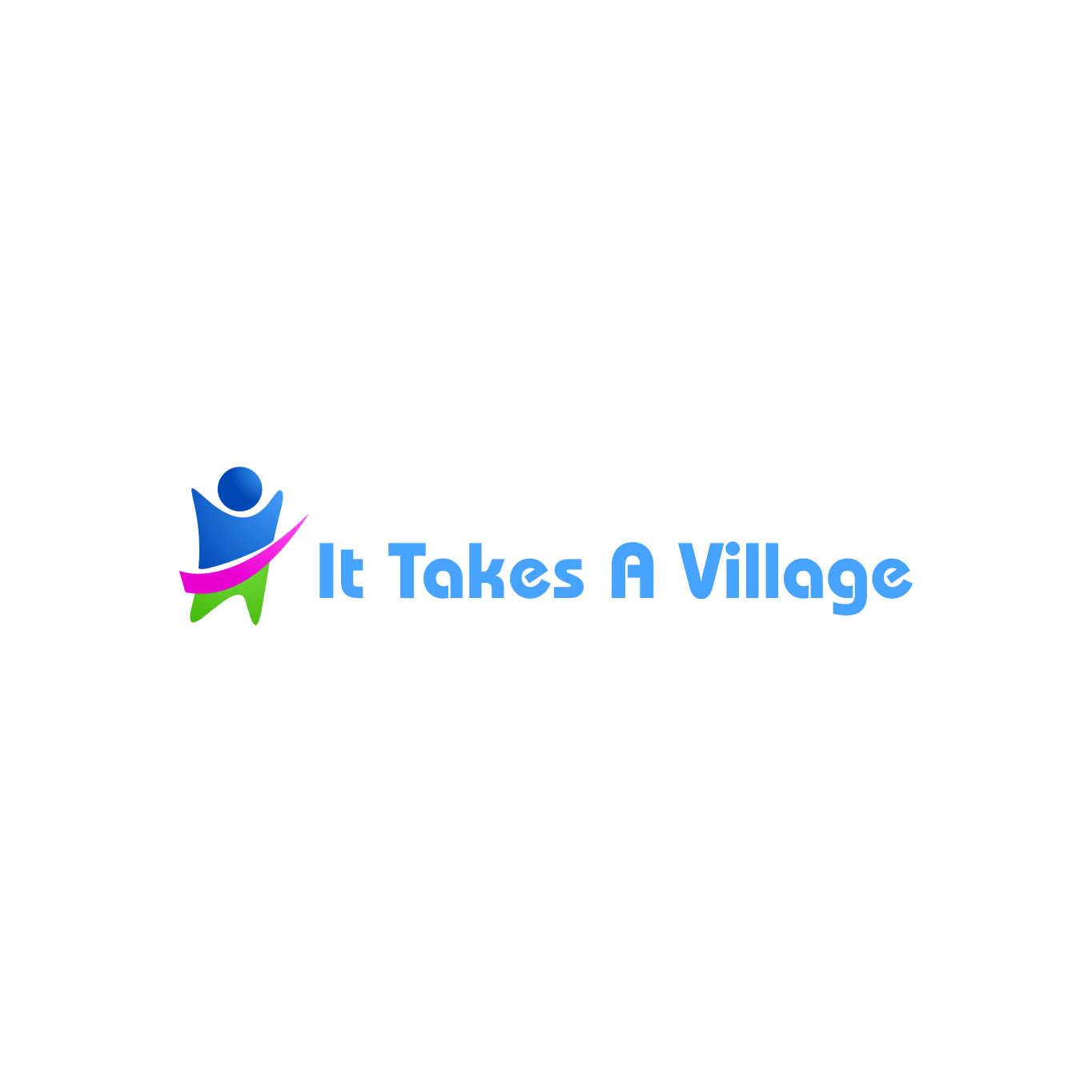Logo Design by rifatz - Entry No. 49 in the Logo Design Contest Captivating Logo Design for It Takes A Village.