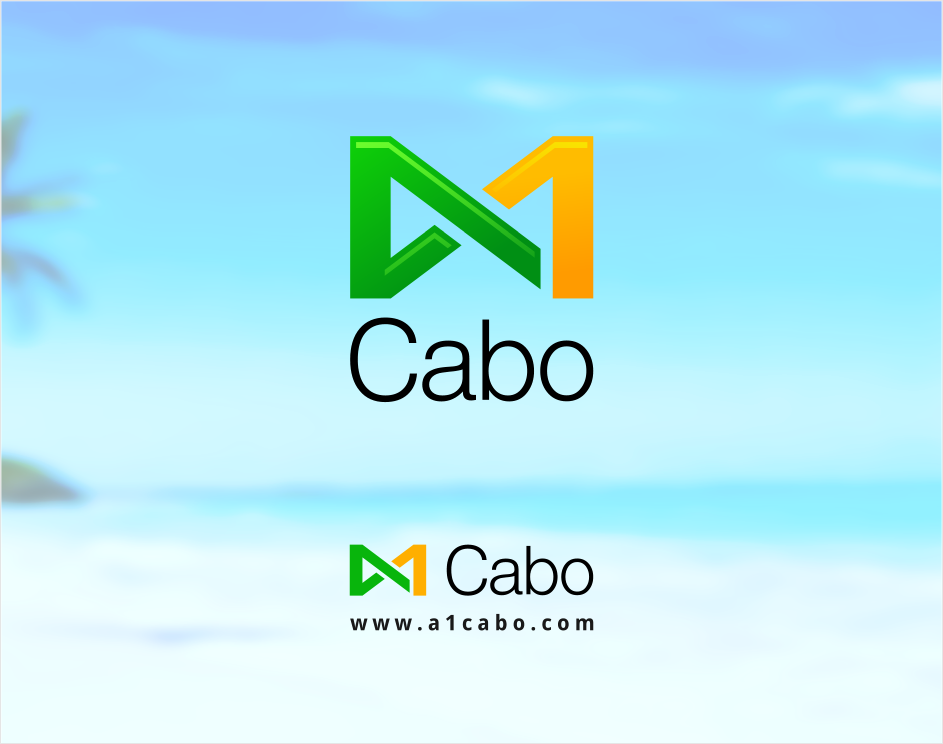 Logo Design by Jorge Sardon - Entry No. 33 in the Logo Design Contest Inspiring Logo Design for A1Cabo.com.
