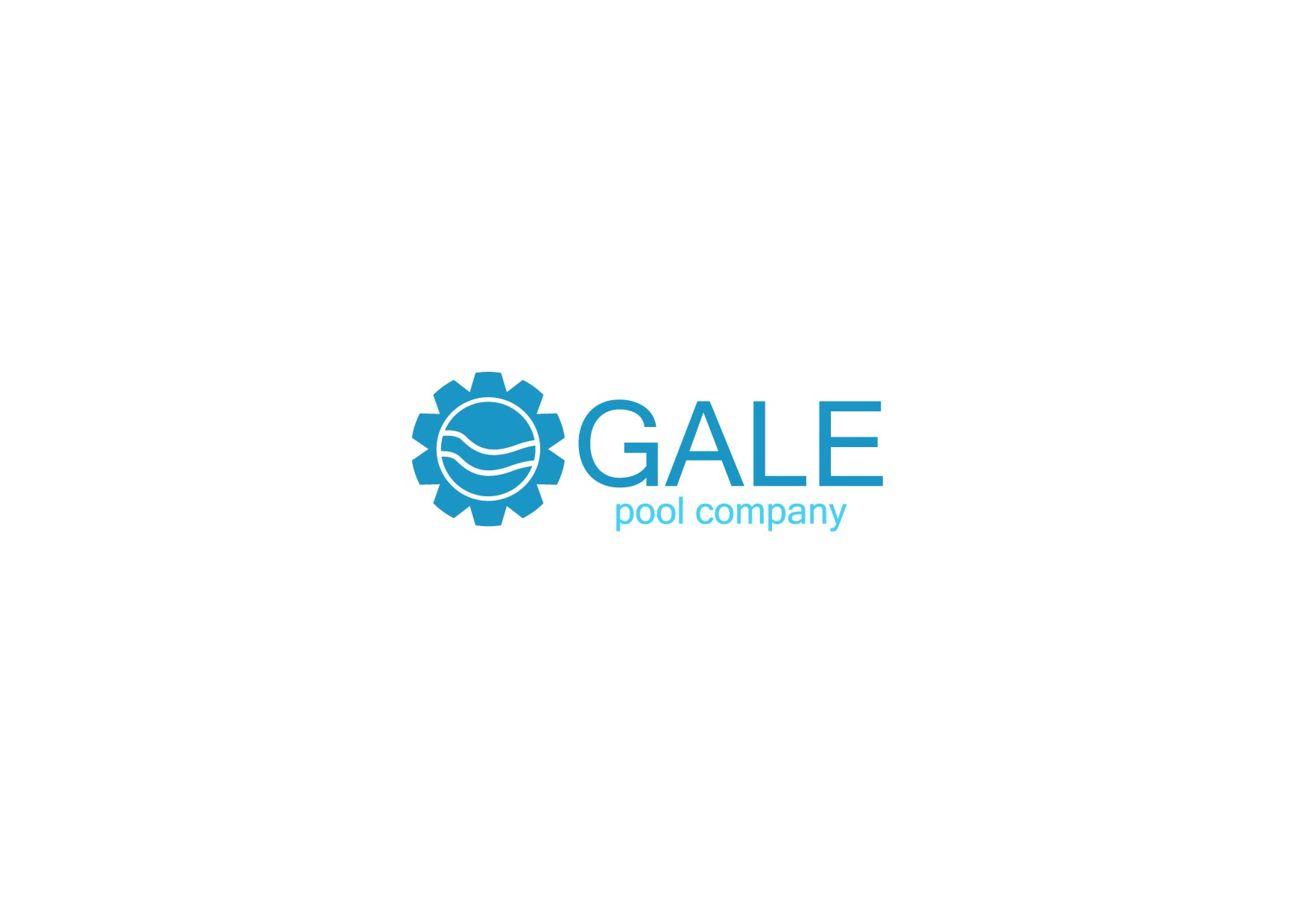 Logo Design by Osi Indra - Entry No. 34 in the Logo Design Contest Imaginative Logo Design for Gale Pool Company.