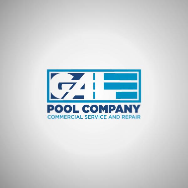 Logo Design by Private User - Entry No. 37 in the Logo Design Contest Imaginative Logo Design for Gale Pool Company.