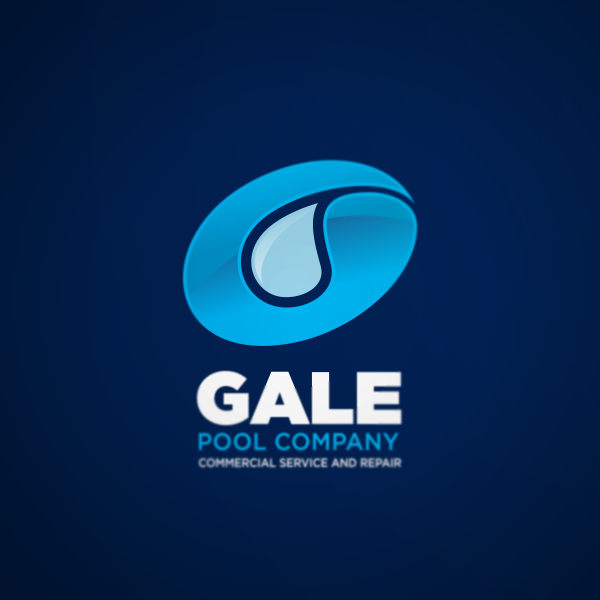 Logo Design by Private User - Entry No. 38 in the Logo Design Contest Imaginative Logo Design for Gale Pool Company.