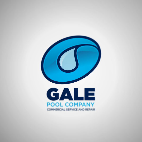 Logo Design by Private User - Entry No. 39 in the Logo Design Contest Imaginative Logo Design for Gale Pool Company.
