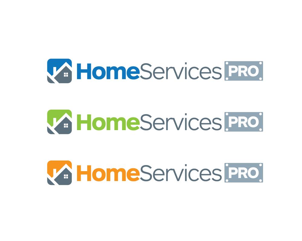 Logo Design by roc - Entry No. 36 in the Logo Design Contest Captivating Logo Design for Home Services Pro   / HomeServicesPro.com.