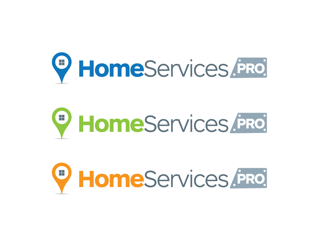 Logo Design by roc - Entry No. 37 in the Logo Design Contest Captivating Logo Design for Home Services Pro   / HomeServicesPro.com.