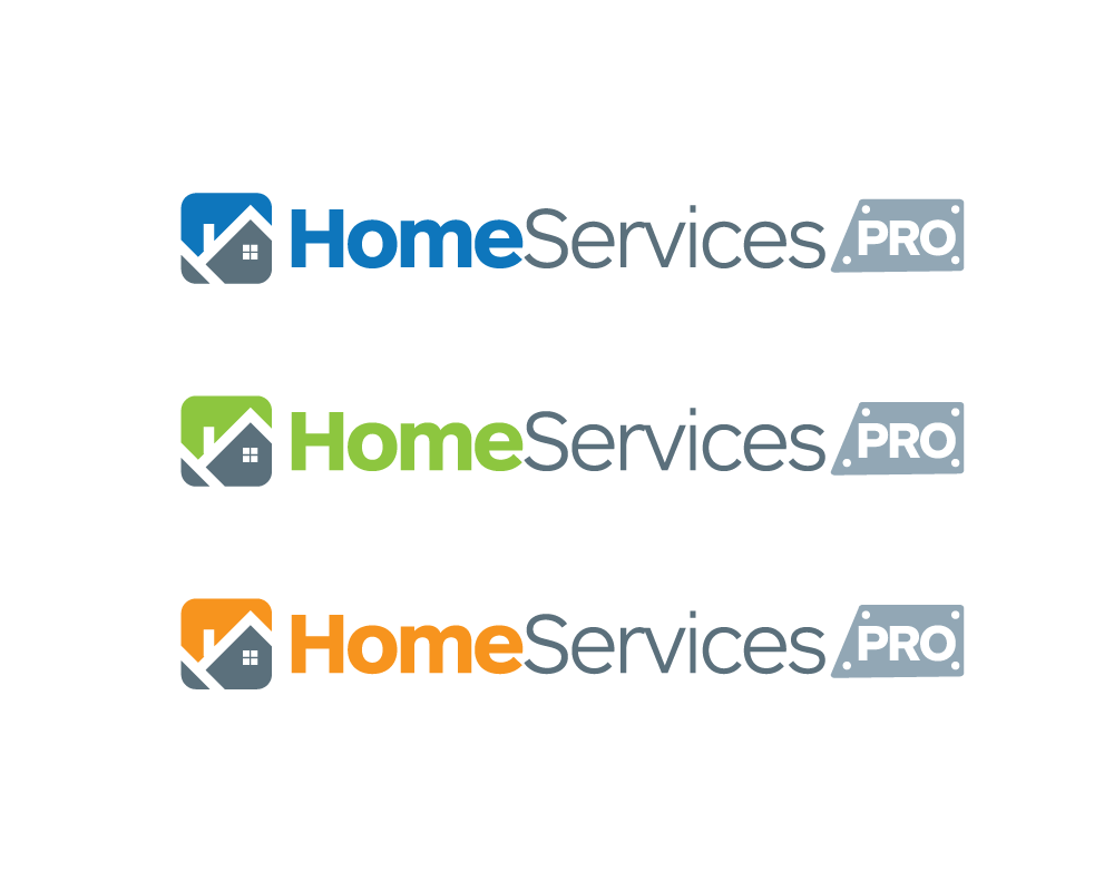 Logo Design by roc - Entry No. 41 in the Logo Design Contest Captivating Logo Design for Home Services Pro   / HomeServicesPro.com.