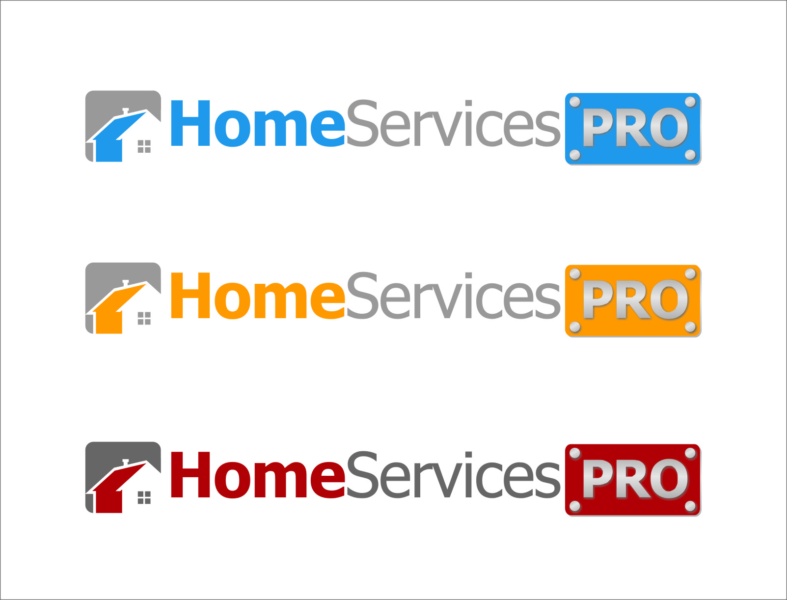 Logo Design by RasYa Muhammad Athaya - Entry No. 44 in the Logo Design Contest Captivating Logo Design for Home Services Pro   / HomeServicesPro.com.
