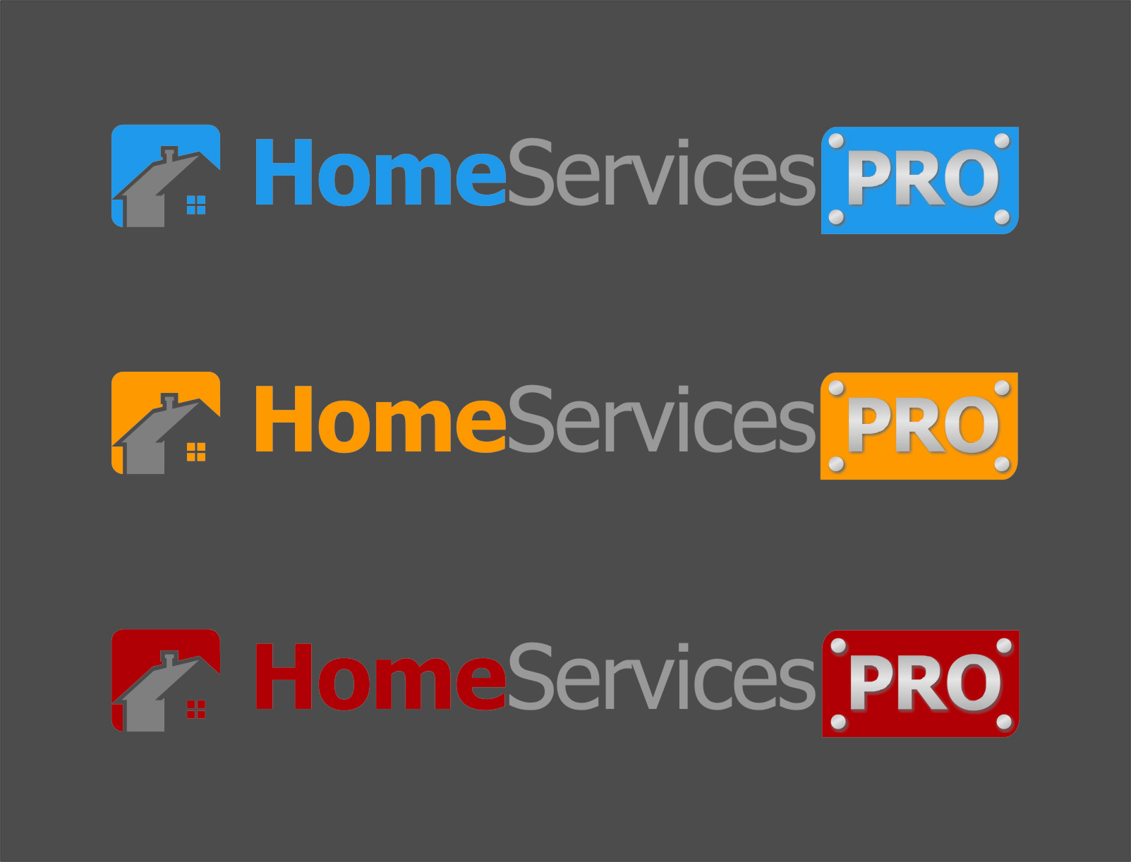 Logo Design by RasYa Muhammad Athaya - Entry No. 45 in the Logo Design Contest Captivating Logo Design for Home Services Pro   / HomeServicesPro.com.