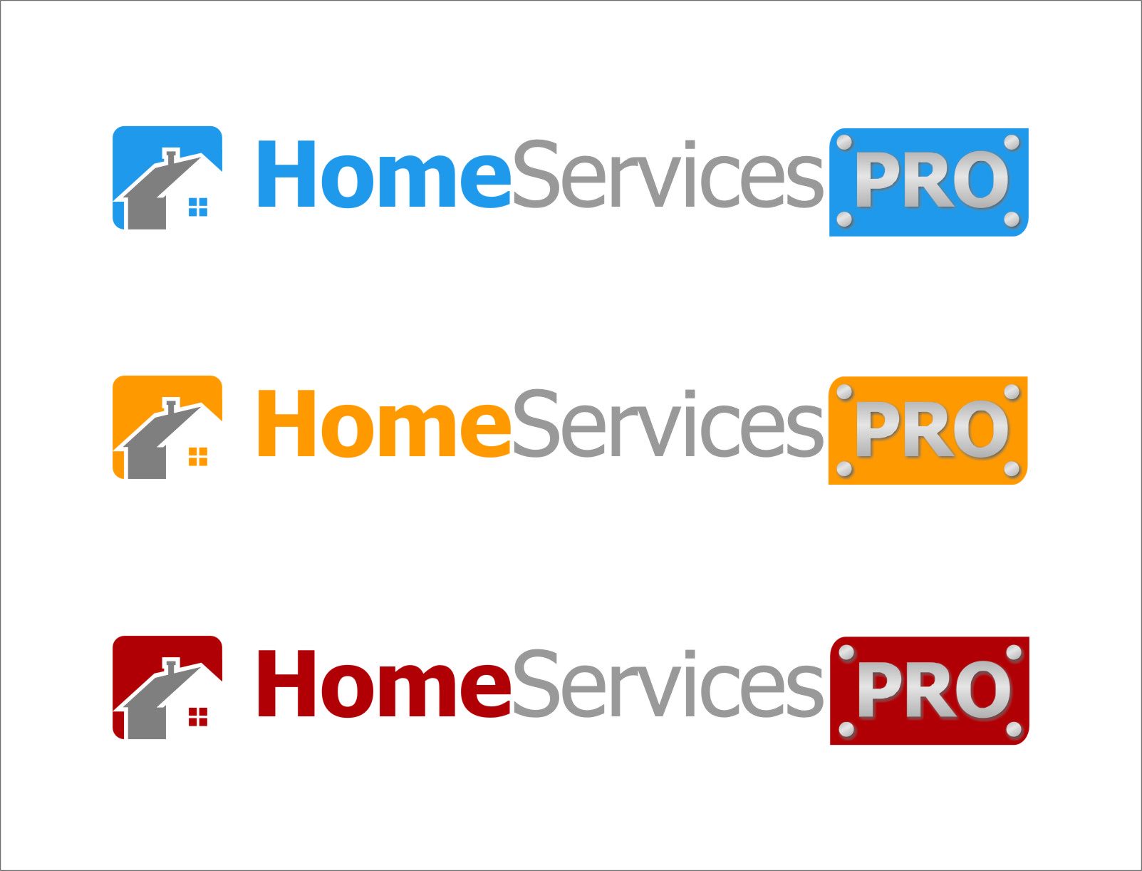 Logo Design by RasYa Muhammad Athaya - Entry No. 46 in the Logo Design Contest Captivating Logo Design for Home Services Pro   / HomeServicesPro.com.