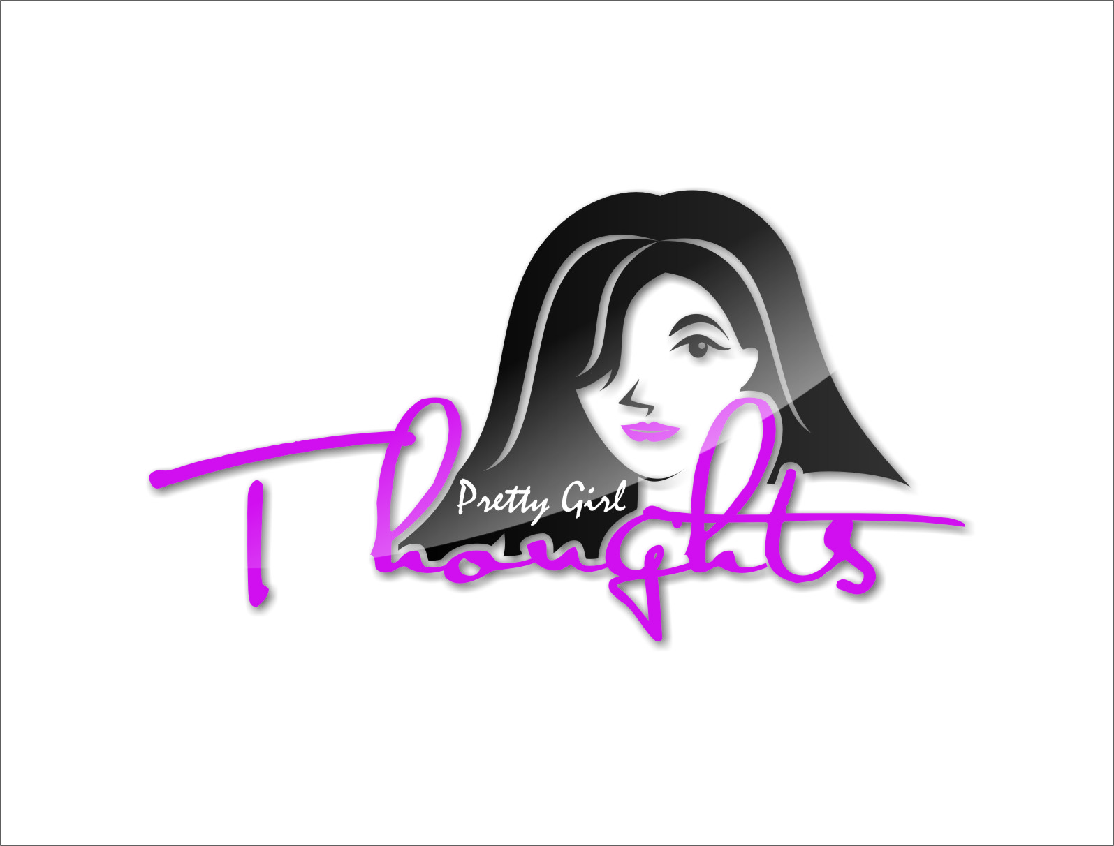 Logo Design by RasYa Muhammad Athaya - Entry No. 77 in the Logo Design Contest Inspiring Logo Design for Pretty Girl Thoughts.