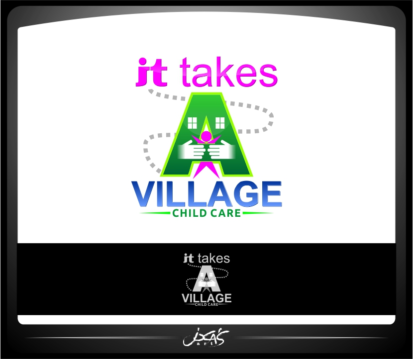 Logo Design by joca - Entry No. 52 in the Logo Design Contest Captivating Logo Design for It Takes A Village.