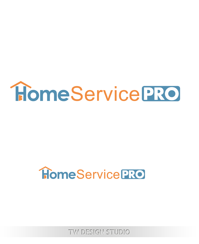 Logo Design by Private User - Entry No. 47 in the Logo Design Contest Captivating Logo Design for Home Services Pro   / HomeServicesPro.com.