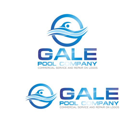 Logo Design by ronny - Entry No. 49 in the Logo Design Contest Imaginative Logo Design for Gale Pool Company.
