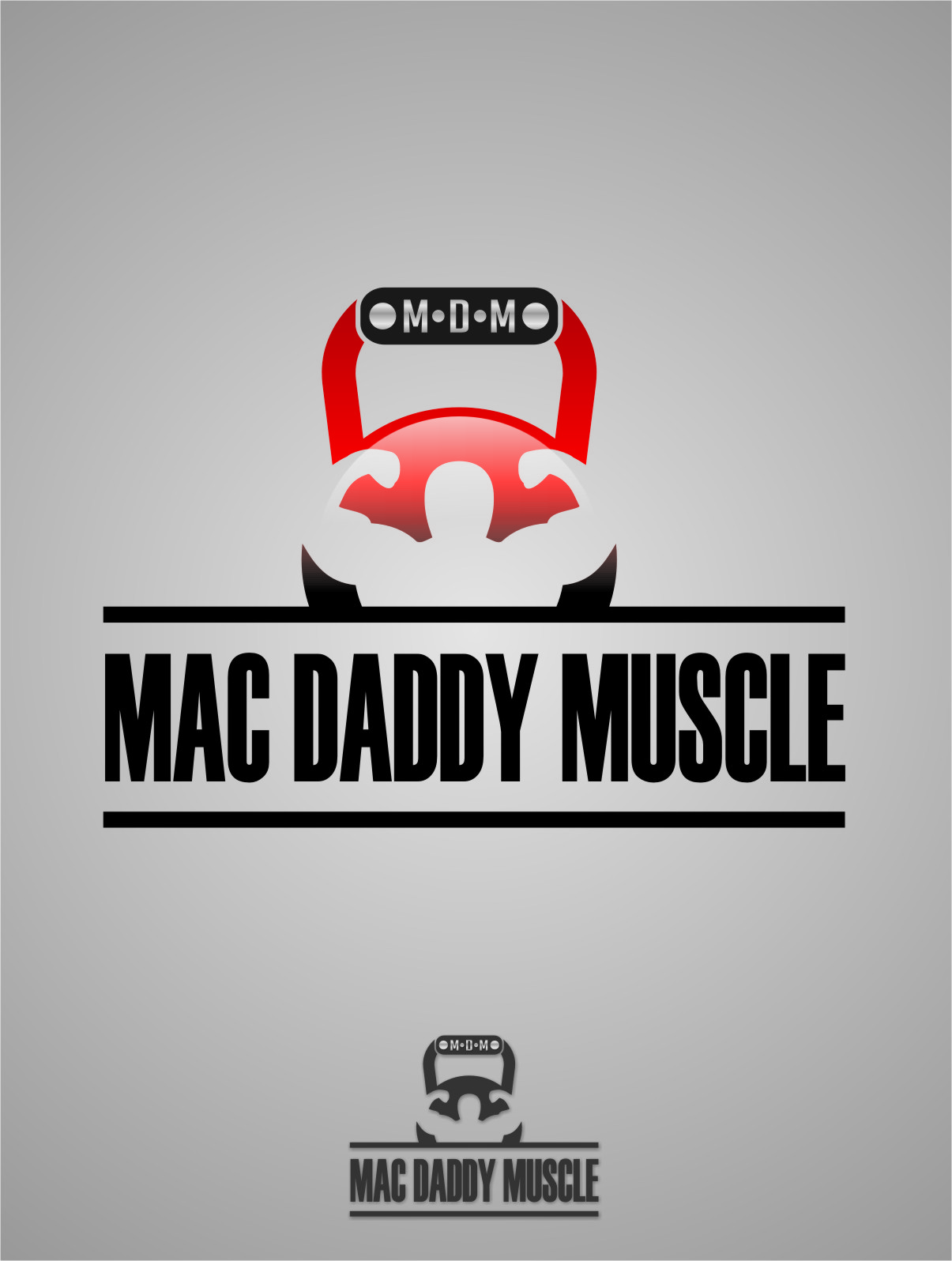 Logo Design by RoSyid Rono-Rene On Java - Entry No. 67 in the Logo Design Contest New Logo Design for Mac Daddy Muscle.