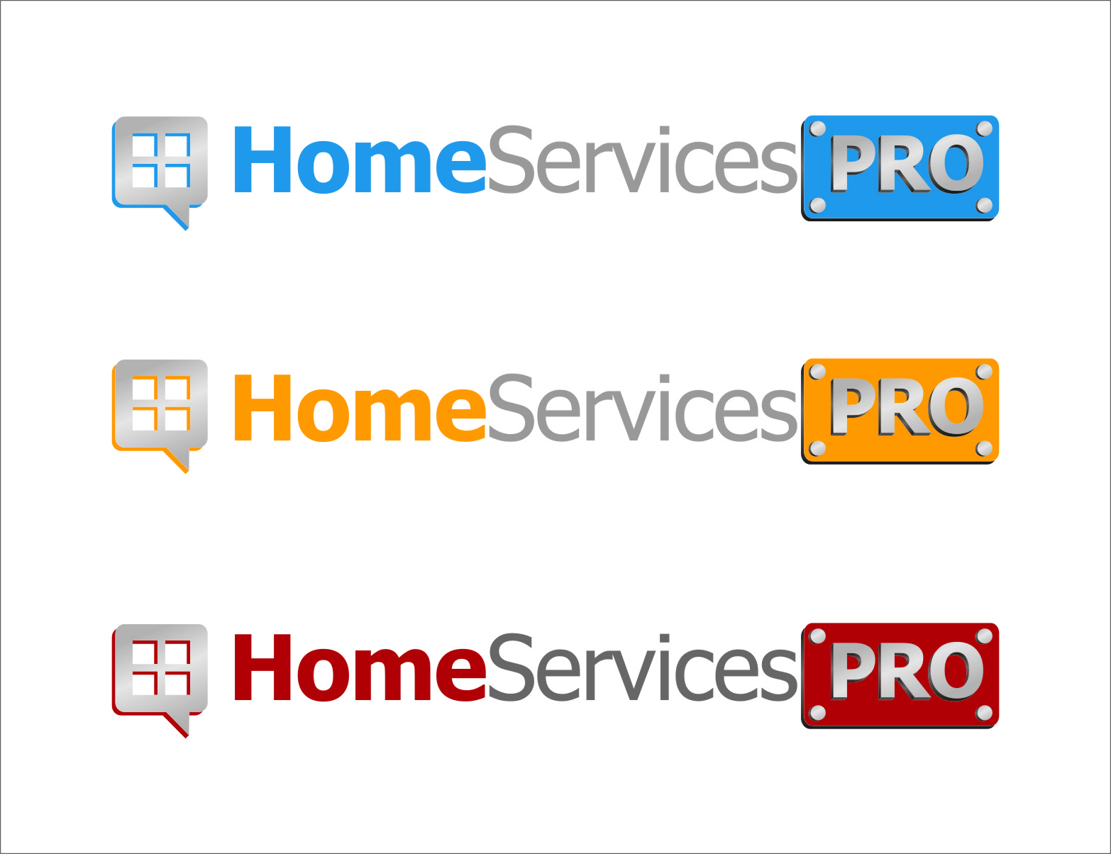 Logo Design by Ngepet_art - Entry No. 48 in the Logo Design Contest Captivating Logo Design for Home Services Pro   / HomeServicesPro.com.