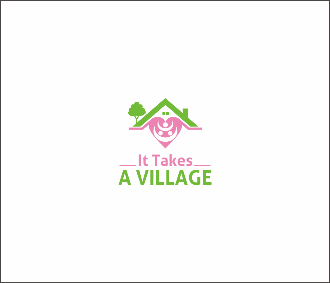 Logo Design by Armada Jamaluddin - Entry No. 54 in the Logo Design Contest Captivating Logo Design for It Takes A Village.