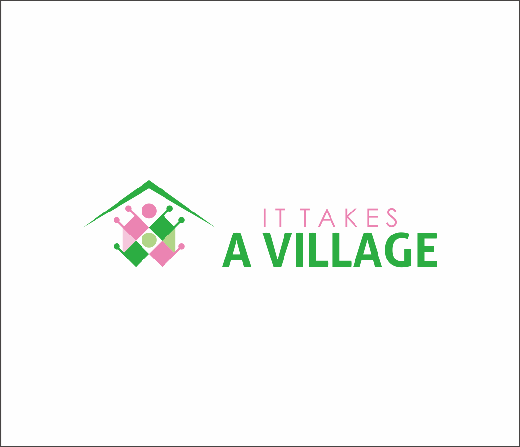 Logo Design by Armada Jamaluddin - Entry No. 55 in the Logo Design Contest Captivating Logo Design for It Takes A Village.