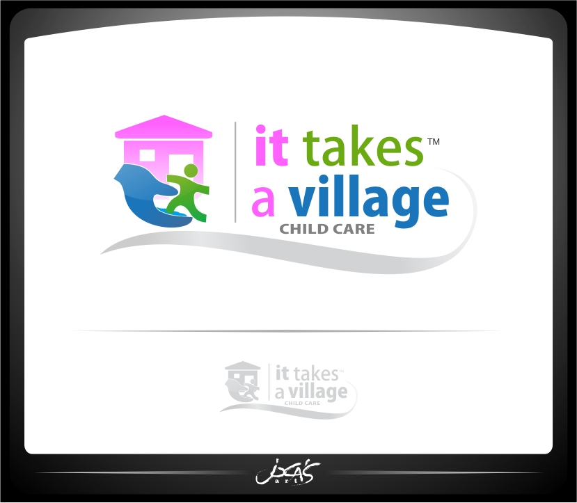 Logo Design by joca - Entry No. 56 in the Logo Design Contest Captivating Logo Design for It Takes A Village.