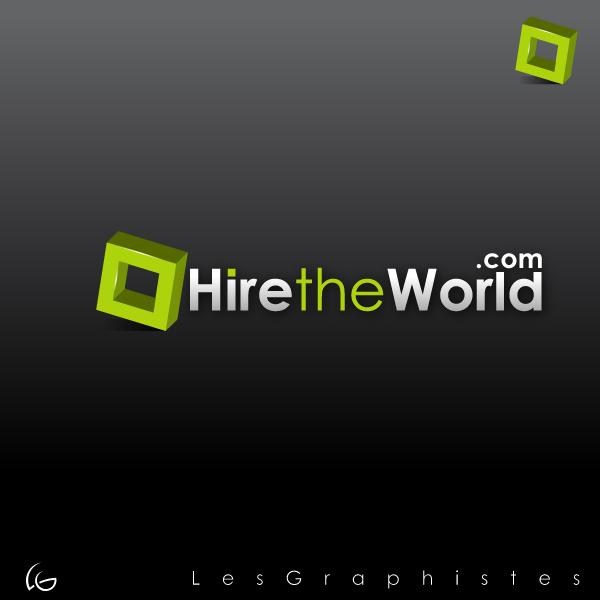 Logo Design by Les-Graphistes - Entry No. 256 in the Logo Design Contest Hiretheworld.com.