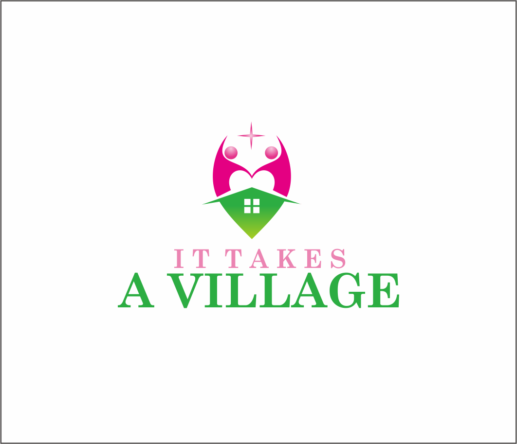 Logo Design by Armada Jamaluddin - Entry No. 57 in the Logo Design Contest Captivating Logo Design for It Takes A Village.