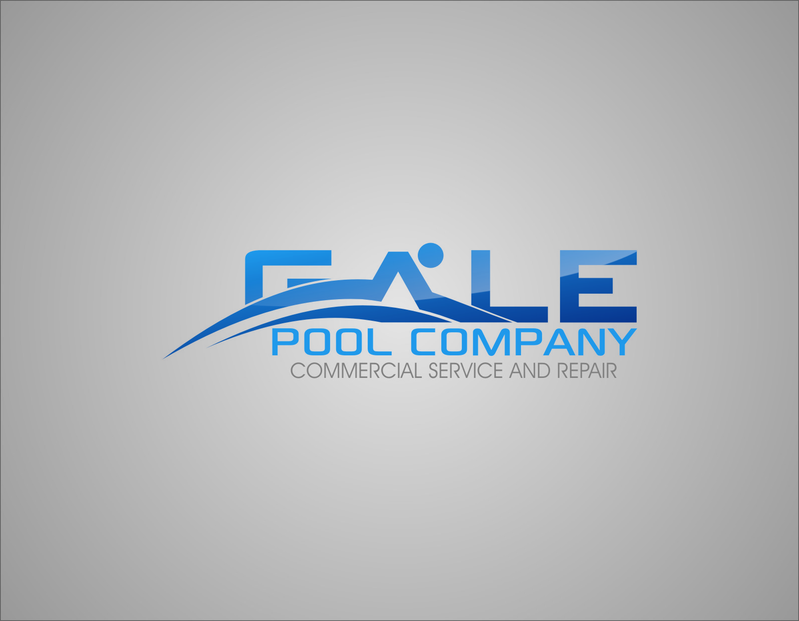 Logo Design by Ngepet_art - Entry No. 52 in the Logo Design Contest Imaginative Logo Design for Gale Pool Company.